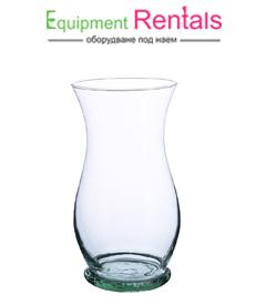 Стъклена ваза Лале 20см под наем